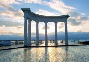 Веб-камера Алушты, Крым набережная, море, пляж в реальном времени