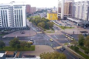 Веб-камера Москва, площадь Крестьянская Застава в реальном времени