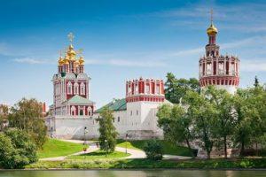 Веб-камера Веб-камеры Москвы, Новодевичий монастырь в реальном времени