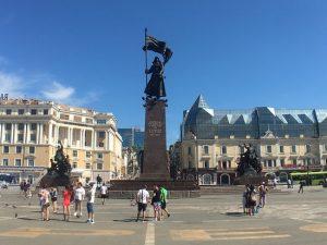Веб-камера Владивосток, Центральная площадь в реальном времени