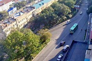 Веб-камера Владивосток, улица Бестужева в реальном времени
