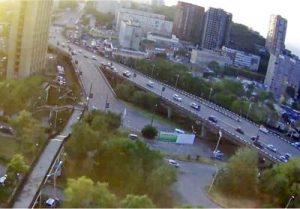 Веб-камера Владивосток, улица Гоголя в реальном времени