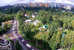 Веб-камера Санкт-Петербург, улица Заречная в реальном времени