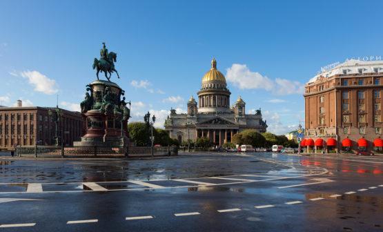 Санкт-Петербург - Исаакиевский собор