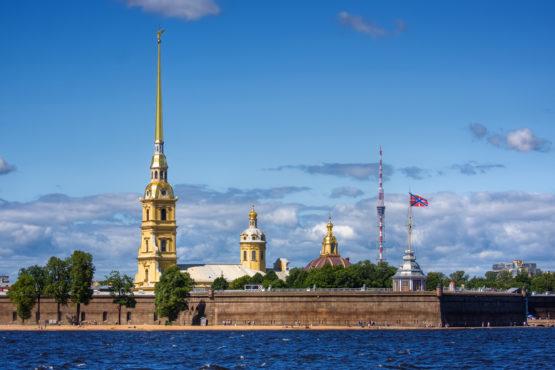 Санкт-Петербург — Петропавловская крепость