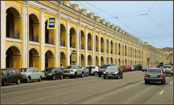 Санкт-Петербург — Садовая улица и Гостинный двор