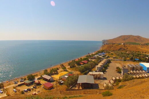 Веб-камеры Прибрежное, Солнечная долина