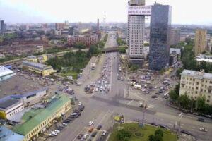 Веб-камера Москва, Рогожская Застава в реальном времени