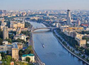 Веб-камера Москва, Котельническая набережная в реальном времени