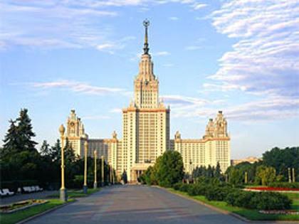Москва - МГУ Воробьевы горы
