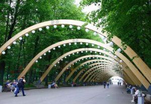 Веб-камера Москвы, парк Сокольники в реальном времени