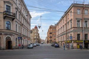 Веб-камера Санкт-Петербург, Столярный переулок в реальном времени