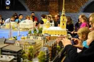 Веб-камера Санкт-Петербург, музей Гранд Макет Россия в реальном времени