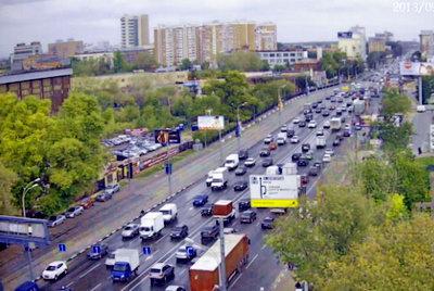 Москва - шоссе Энтузиастов - Пересечение с 3-м кольцом