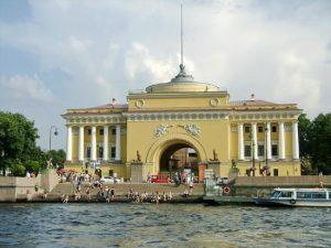 Веб-камера Санкт-Петербург, Адмиралтейская набережная в реальном времени