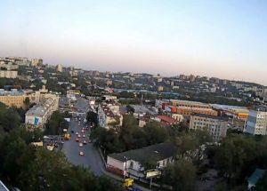 Веб-камера Владивосток, улица Ивановская в реальном времени