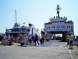 Веб-камера Керченская паромная переправа (Крым) в реальном времени