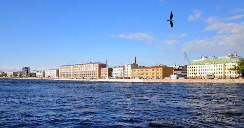 Санкт-Петербург - Пироговская набережная